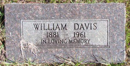 DAVIS, WILLIAM ALFRED - Faulkner County, Arkansas | WILLIAM ALFRED DAVIS - Arkansas Gravestone Photos