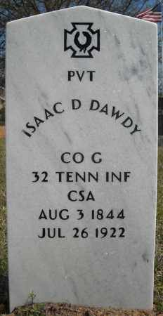 "DAWDY (VETERAN CSA), ISAAC D ""DOCK"" - Faulkner County, Arkansas 