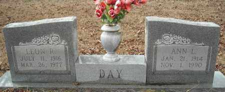DAY, LEON R. - Faulkner County, Arkansas | LEON R. DAY - Arkansas Gravestone Photos