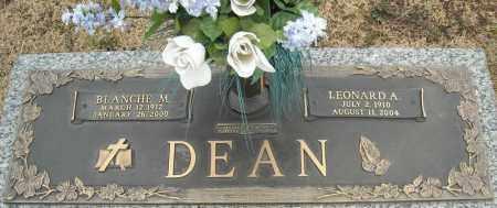 DEAN, LEONARD A. - Faulkner County, Arkansas | LEONARD A. DEAN - Arkansas Gravestone Photos