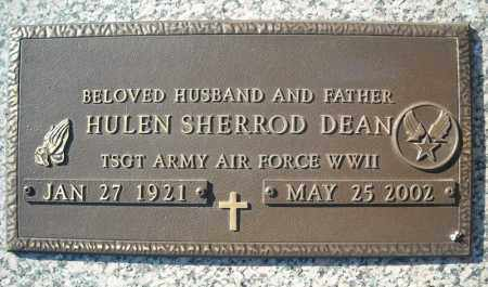 DEAN (VETERAN WWII), HULEN SHERROD - Faulkner County, Arkansas | HULEN SHERROD DEAN (VETERAN WWII) - Arkansas Gravestone Photos