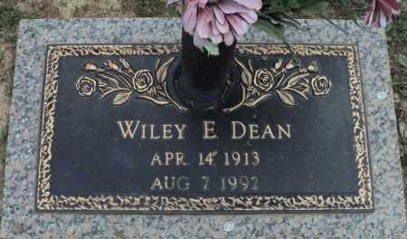 DEAN, WILEY E. - Faulkner County, Arkansas | WILEY E. DEAN - Arkansas Gravestone Photos