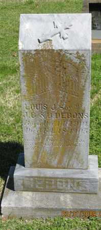 DEBONS, LOUIS J. - Faulkner County, Arkansas | LOUIS J. DEBONS - Arkansas Gravestone Photos