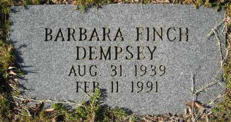 DEMPSEY, BARBARA - Faulkner County, Arkansas | BARBARA DEMPSEY - Arkansas Gravestone Photos