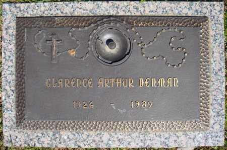 DENMAN, CLARENCE ARTHUR - Faulkner County, Arkansas | CLARENCE ARTHUR DENMAN - Arkansas Gravestone Photos