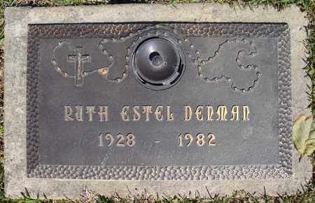 DENMAN, RUTH ESTEL - Faulkner County, Arkansas | RUTH ESTEL DENMAN - Arkansas Gravestone Photos