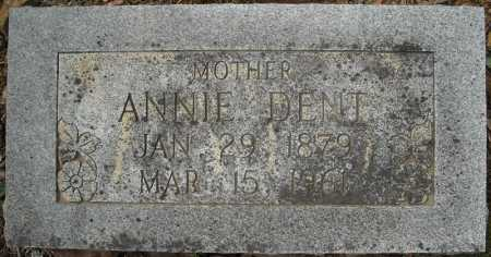 DENT, ANNIE CAROLINE - Faulkner County, Arkansas   ANNIE CAROLINE DENT - Arkansas Gravestone Photos