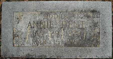 DENT, ANNIE CAROLINE - Faulkner County, Arkansas | ANNIE CAROLINE DENT - Arkansas Gravestone Photos