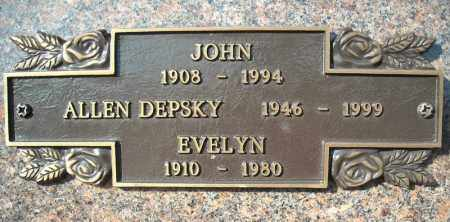 DEPSKY, JOHN - Faulkner County, Arkansas | JOHN DEPSKY - Arkansas Gravestone Photos