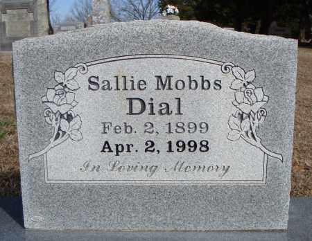 MOBBS DIAL, SALLIE - Faulkner County, Arkansas | SALLIE MOBBS DIAL - Arkansas Gravestone Photos