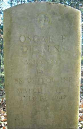 DICKENS  (VETERAN), OSCAR REEVES - Faulkner County, Arkansas | OSCAR REEVES DICKENS  (VETERAN) - Arkansas Gravestone Photos