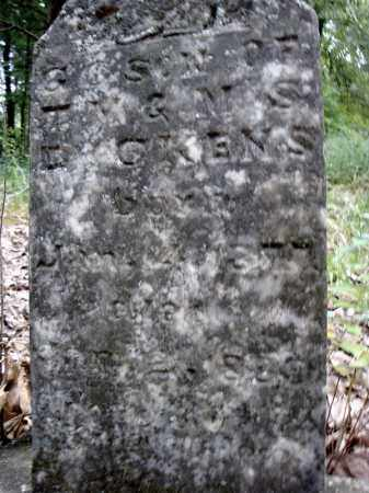 DICKENS, G.G.  (CLOSE UP) - Faulkner County, Arkansas | G.G.  (CLOSE UP) DICKENS - Arkansas Gravestone Photos