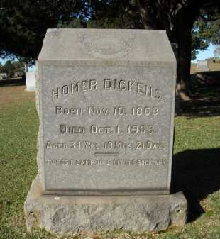 DICKENS, HOMER - Faulkner County, Arkansas | HOMER DICKENS - Arkansas Gravestone Photos