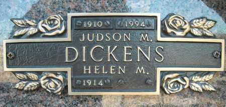 DICKENS, JUDSON M. - Faulkner County, Arkansas | JUDSON M. DICKENS - Arkansas Gravestone Photos