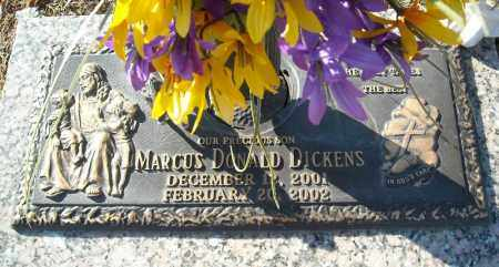 DICKENS, MARCUS DONALD - Faulkner County, Arkansas | MARCUS DONALD DICKENS - Arkansas Gravestone Photos
