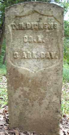 DICKENS (VETERAN UNION), THOMAS M - Faulkner County, Arkansas | THOMAS M DICKENS (VETERAN UNION) - Arkansas Gravestone Photos