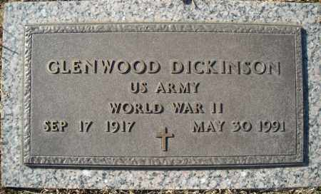 DICKINSON (VETERAN WWII), GLENWOOD - Faulkner County, Arkansas | GLENWOOD DICKINSON (VETERAN WWII) - Arkansas Gravestone Photos
