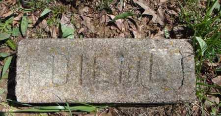 DIEHL, UNKNOWN 3 - Faulkner County, Arkansas | UNKNOWN 3 DIEHL - Arkansas Gravestone Photos