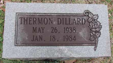 DILLARD, THERMON - Faulkner County, Arkansas | THERMON DILLARD - Arkansas Gravestone Photos