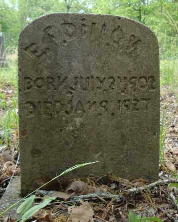 DILLON, E.F. - Faulkner County, Arkansas   E.F. DILLON - Arkansas Gravestone Photos