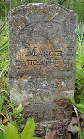 DILLON, MAGGIE F. - Faulkner County, Arkansas | MAGGIE F. DILLON - Arkansas Gravestone Photos