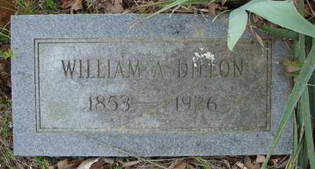 DILLON, WILLIAM A. - Faulkner County, Arkansas | WILLIAM A. DILLON - Arkansas Gravestone Photos