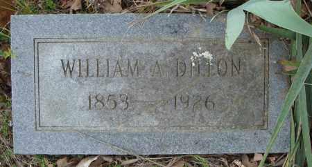 DILLON, WILLIAM A. - Faulkner County, Arkansas | WILLIAM A. DILLON - Arkansas Gravestone Photos