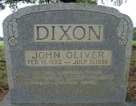 DIXON, JOHN OLIVER - Faulkner County, Arkansas | JOHN OLIVER DIXON - Arkansas Gravestone Photos
