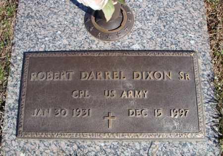 DIXON, SR (VETERAN), ROBERT DARREL - Faulkner County, Arkansas | ROBERT DARREL DIXON, SR (VETERAN) - Arkansas Gravestone Photos