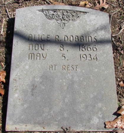 EDMONSON DOBBINS, ALICE REBECCA ANN - Faulkner County, Arkansas | ALICE REBECCA ANN EDMONSON DOBBINS - Arkansas Gravestone Photos