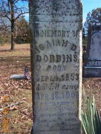 DOBBINS, ISAIAH D. - Faulkner County, Arkansas | ISAIAH D. DOBBINS - Arkansas Gravestone Photos