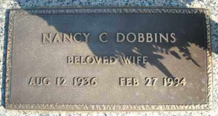 DOBBINS, NANCY C. - Faulkner County, Arkansas | NANCY C. DOBBINS - Arkansas Gravestone Photos
