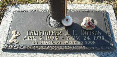 DODSON, CHRISTOPHER J.E. - Faulkner County, Arkansas   CHRISTOPHER J.E. DODSON - Arkansas Gravestone Photos