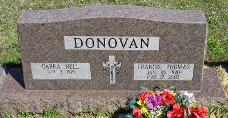 DONOVAN, FRANCIS THOMAS - Faulkner County, Arkansas | FRANCIS THOMAS DONOVAN - Arkansas Gravestone Photos
