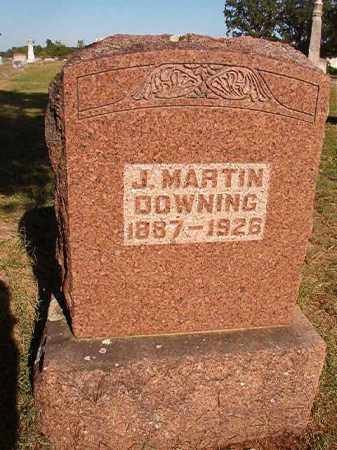 DOWNING, JESSE MARTIN - Faulkner County, Arkansas | JESSE MARTIN DOWNING - Arkansas Gravestone Photos