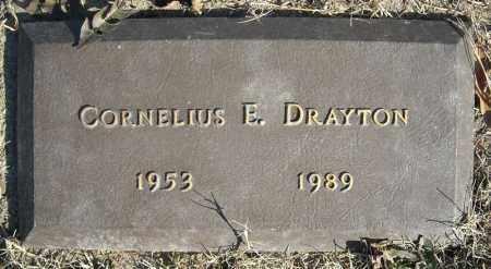 DRAYTON, CORNELIUS E. - Faulkner County, Arkansas | CORNELIUS E. DRAYTON - Arkansas Gravestone Photos