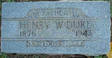 DUKE, HENRY WYATT - Faulkner County, Arkansas | HENRY WYATT DUKE - Arkansas Gravestone Photos