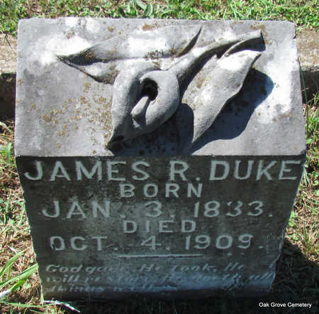 DUKE (VETERAN CSA), JAMES R - Faulkner County, Arkansas | JAMES R DUKE (VETERAN CSA) - Arkansas Gravestone Photos