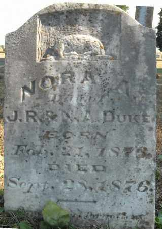 DUKE, NORA A. - Faulkner County, Arkansas | NORA A. DUKE - Arkansas Gravestone Photos