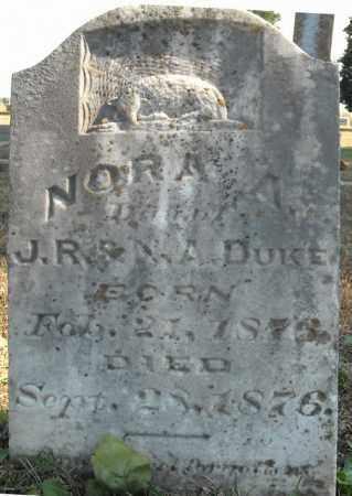 DUKE, NORA A. - Faulkner County, Arkansas | NORA A. DUKE - Arkansas Gravestone Photos