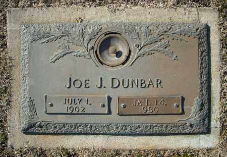 DUNBAR, JOE J. - Faulkner County, Arkansas | JOE J. DUNBAR - Arkansas Gravestone Photos