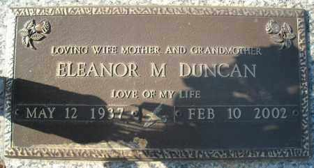 DUNCAN, ELEANOR M - Faulkner County, Arkansas | ELEANOR M DUNCAN - Arkansas Gravestone Photos