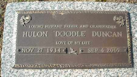 "DUNCAN, HULON ""DOODLE"" - Faulkner County, Arkansas 