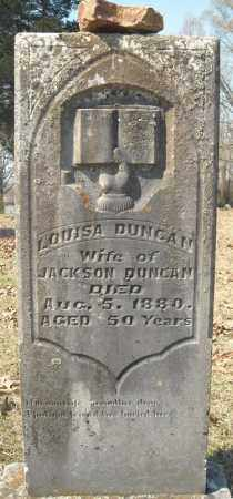 DUNCAN, LOUISA - Faulkner County, Arkansas | LOUISA DUNCAN - Arkansas Gravestone Photos