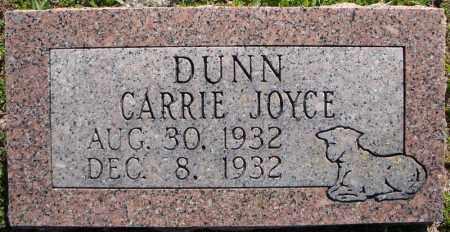 DUNN, CARRIE JOYCE - Faulkner County, Arkansas | CARRIE JOYCE DUNN - Arkansas Gravestone Photos