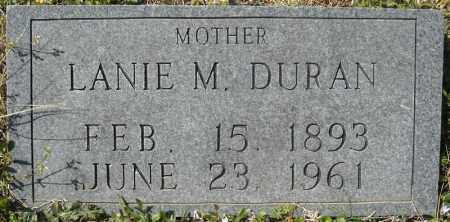 DURAN, LANIE MYRTLE - Faulkner County, Arkansas | LANIE MYRTLE DURAN - Arkansas Gravestone Photos