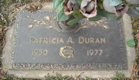 DURAN, PATRICIA A. - Faulkner County, Arkansas | PATRICIA A. DURAN - Arkansas Gravestone Photos