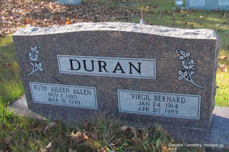 DURAN, RUTH AILEEN (2 STONES) - Faulkner County, Arkansas | RUTH AILEEN (2 STONES) DURAN - Arkansas Gravestone Photos