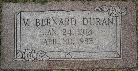 DURAN, VIRGIL  BERNARD (2 STONES) - Faulkner County, Arkansas | VIRGIL  BERNARD (2 STONES) DURAN - Arkansas Gravestone Photos