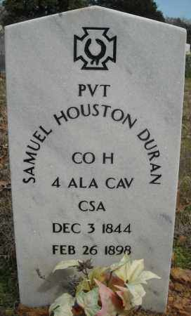DURAN (VETERAN CSA), SAMUEL HOUSTON - Faulkner County, Arkansas | SAMUEL HOUSTON DURAN (VETERAN CSA) - Arkansas Gravestone Photos